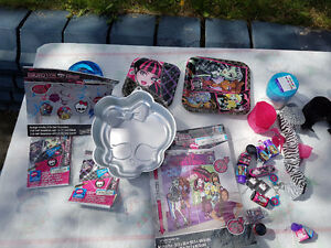 Monster High birthday party supplies