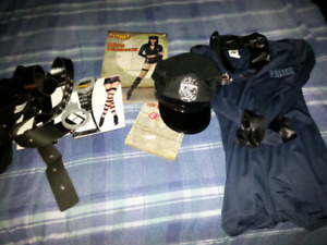 Cop costume size small