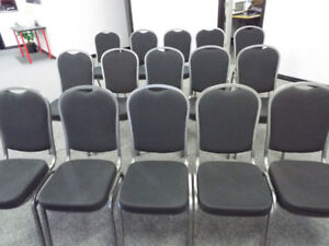 80 Stackable Event Chairs in Great Condition