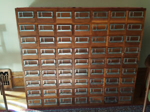 Library Card Cabinet