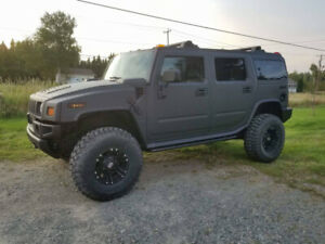 Hummer H2 on 37 inch tire! 172 000 km