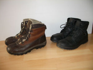 """"""" TIMBERLAND '""""  ou """" ECCO """"  bottes d'hiver --- size 10 US"""
