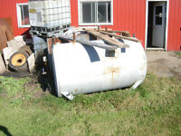 4 inch auger & fuel tanks for sale