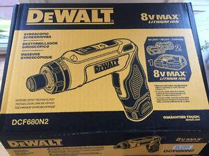 Dewalt gyroscopic screwdriver NEW in box