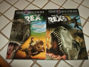 Time Soldiers Rex 1 and Rex 2.  By Robert Gould