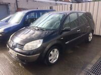 05 Renault Grand Scenic 1.6 Dynamique 16v 7 SEATS - MOT'd - Alloys - PX TO CLEAR
