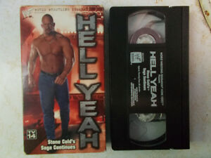 Wrestling VHS For Sale, All $1 Each!! WWE, WWF, WCW, ECW London Ontario image 5