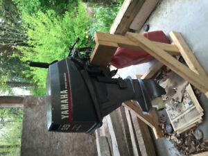 9.9 Yamaha four stroke outboard short shaft