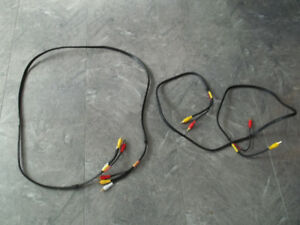 Two Sets Of Video/Audio Cables.