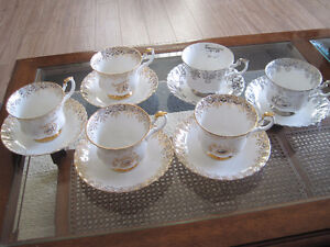 Royal Albert Anniversary Tea Cup/ Saucer Sets $5/set Kitchener / Waterloo Kitchener Area image 1