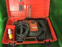 Hilti TE 40 AVR Combi Hammer Drill / Breaker 110v