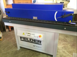 >>> Edgebander Automatic Felder G320 2yrs old PUR EVA