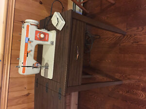 Brother Sewing Machine and cabinet
