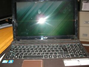 "ACER 15.6 "" WINDOWS 7 - $75.00"