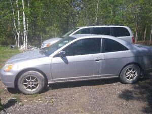 2002 Honda Civic Coupe (2 door)