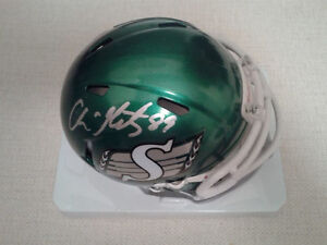 SASKATCHEWAN ROUGHRIDERS AUTOGRAPHED CFL FOOTBALL FAN PACK Edmonton Edmonton Area image 1