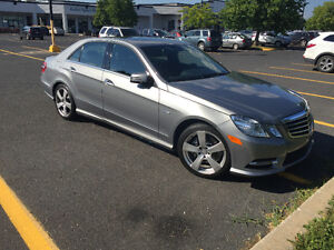 2012 Mercedes-Benz E300 4-Matic Sedan...39000km