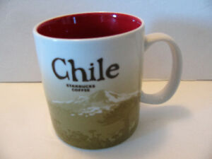 Chile Icon Series Mountain Scene Starbucks City Mug 2016