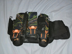 Paintball pants and pod pack