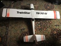 Trainer large plane with DXI6 controler