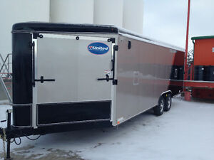 2014 United Enclosed trailer, trade for a halk ton truck