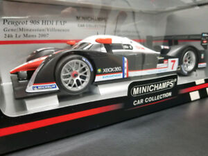 Peugeot 908 HDI FAP - Minichamps , 1/18 Scale Model, Very Rare!