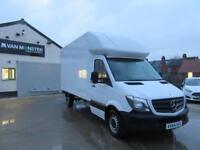 Mercedes-Benz Sprinter 3.5t MERCEDES SPRINTER LUTON BOX VAN DIESEL WHITE (2014)