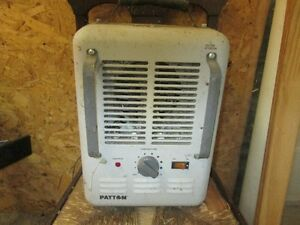2 Patton Electric Utility Heaters
