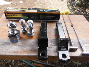 Trailer towing accessories