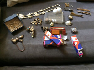 Vintage Jewellery for sale - mixed