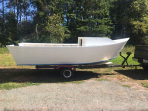 18 Foot Boat and Trailer  For Sale