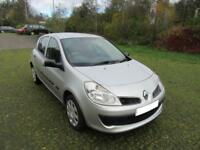 2008 '08' RENAULT CLIO 1.2 16V 75 EXTREME 5 DOOR HATCH IN MET SILVER
