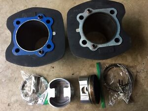 PISTON, RING AND CYLINDERS SET