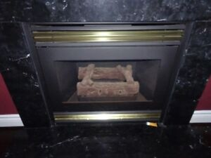 Gaz Fireplace - Lennox GFP(1,2)-4, Fan, 20k BTU, 36(w) x 32 x 16