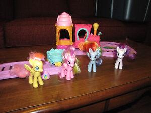 My Little Pony Train Set
