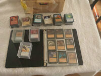 Magic The Gathering cards, vintage, giant lot