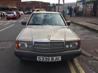 1990 Mercedes-Benz 190 2.0 E 3 Owners 12 Mot Bargain