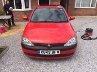 Vauxhall Corsa 1.4 Auto Spares or Repairs MOT