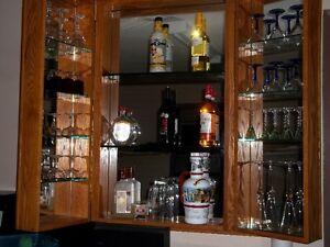 wall bar cabinet Peterborough Peterborough Area image 1