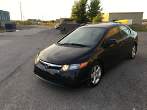2007 Honda Civic LX 119 000 KM Berline