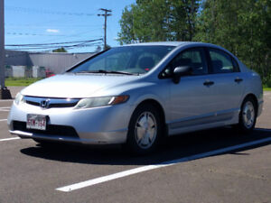2008 Honda Civic DX-G (new winter tires included!) WAS $4500