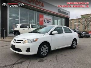 2011 Toyota Corolla   CERTIFIED  DEALERSHIP MAINTAINED
