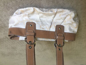 White Coach Purse for Sale