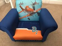 Children's kids Disney Pixar planes armchair