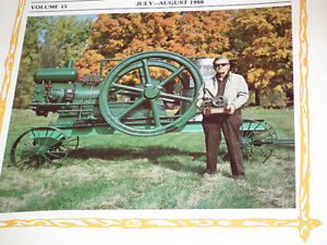 OLD GAS ENGINE AND TRACTOR MAGAZINES MINT . Windsor Region Ontario image 3