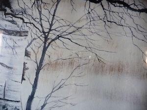 Canadian Winter Landscape by Doug Hook, Artist's Print Stratford Kitchener Area image 4