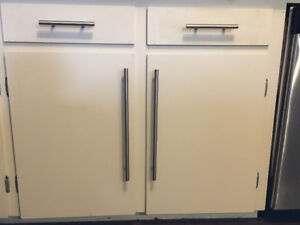 Cabinet hardware - stainless steel