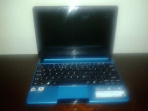 Mini Laptop Netbook 10po Acer Aspire One Portable Webcam Win7  E