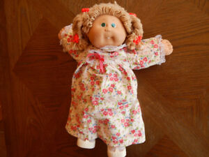 Cabbage patch doll with clothing