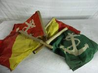 Dawson City Riverboat Signaling Flags - original
